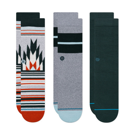 The Classics Socks // Multicolor // Pack of 3 (M)