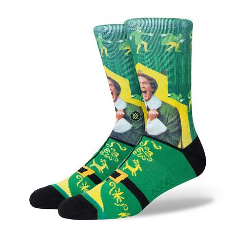 I Know Him Socks // Green (M)