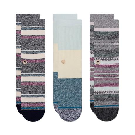 Butter Blend Socks // Multicolor // Pack of 3 (M)