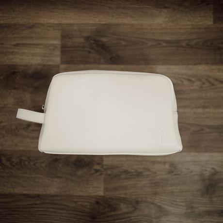 Toiletry Bag // White