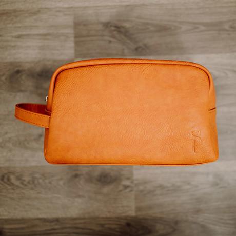 Toiletry Bag // Brown