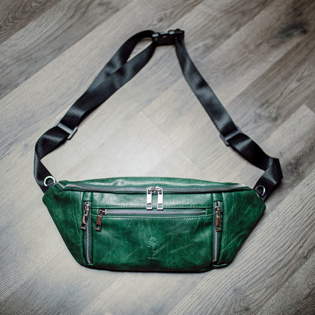 Crossbody Bag // Green