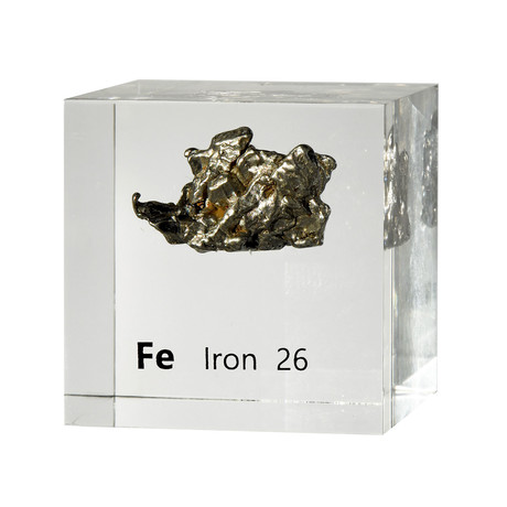 Lucite Cube // Iron V2