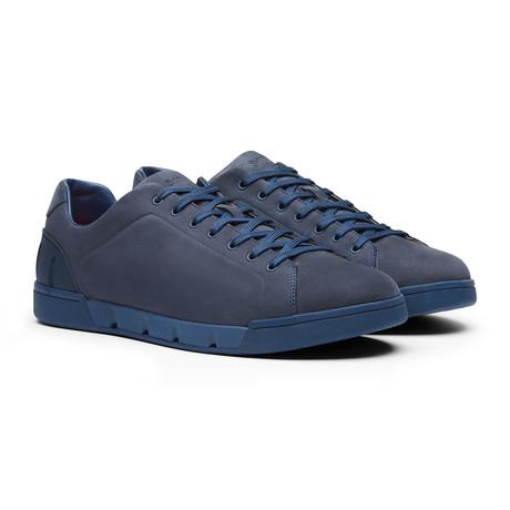 Breeze Tennis Leather // Navy (Men's US Size 7)