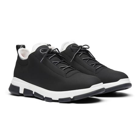 City Hiker Low // Black + White (Men's US Size 7)