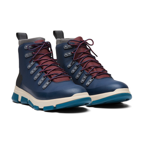 City Hiker // Navy + Gray + Atlantic Blue (Men's US Size 7)