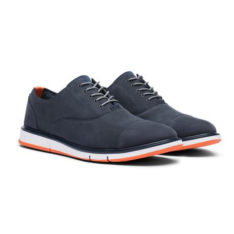 Motion Cap Toe // Navy + Orange (Men's US Size 7)