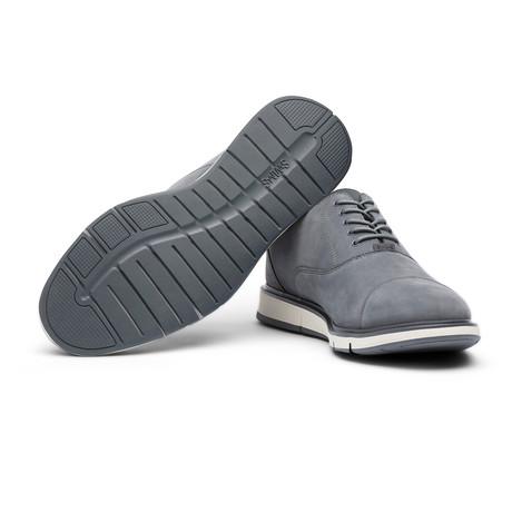 Motion Cap Toe // Gray + Navy (Men's US Size 7)