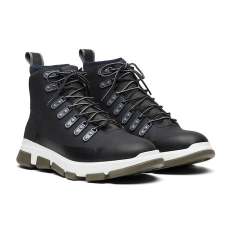 City Hiker // Black + Gray + Olive Night (Men's US Size 7)