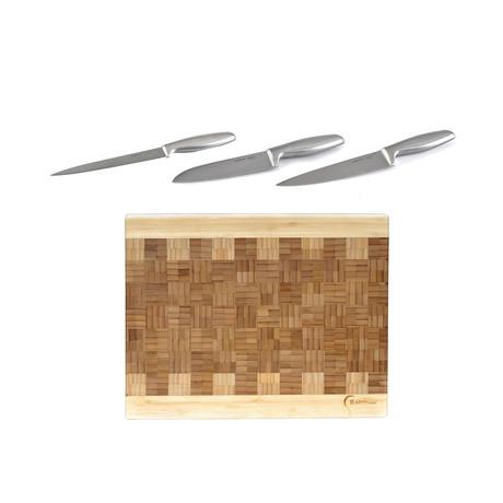 Geminis Stainless Steel Cutlery Set // Set of 4