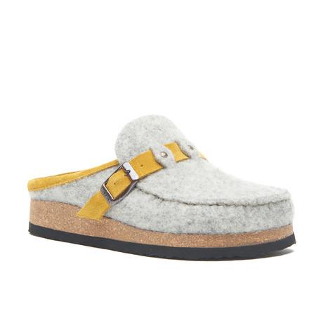 Rike Sandal // Gray + Yellow (Euro: 35)