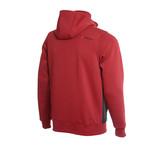 Hooded Full-Zip Sweatshirt // Burgundy (2XL)