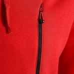 Hoodie // Red (L)