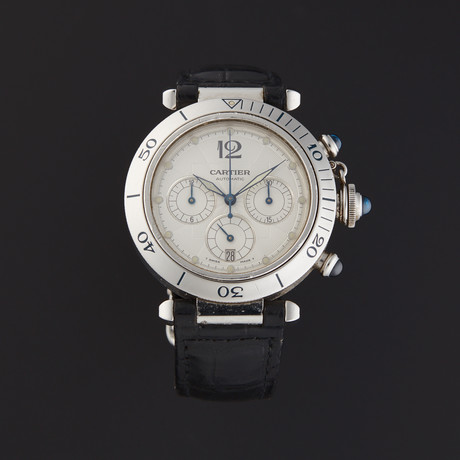 Cartier Pasha Chronograph Automatic // W3103055 // Pre-Owned