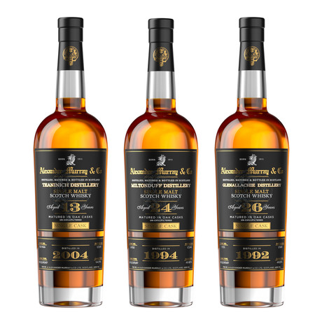 Alexander Murray Rare Scotch Collector's Set // Set of 3 // 750 ml Each