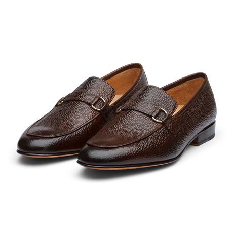 Lorenzo Leather Loafers // Dark Brown Grain (US: 7)