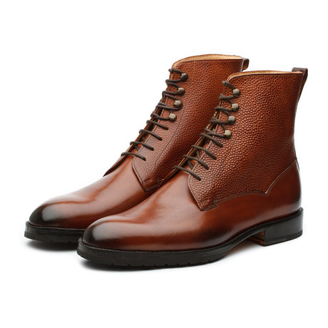 Field Grain Leather Boots // Sequoia (US: 7)