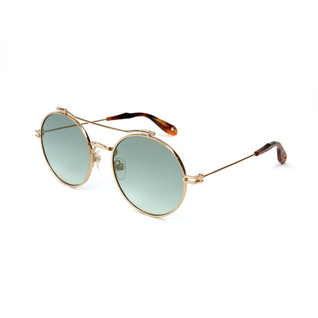 Givenchy // Unisex 7079 Sunglasses // Gold + Havana