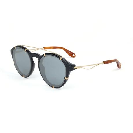 Givenchy // Unisex 7088 Sunglasses V2 // Black + Gold