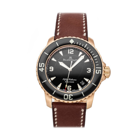 Blancpain Fifty Fathoms Automatic // 5015A-3630-63B // Pre-Owned