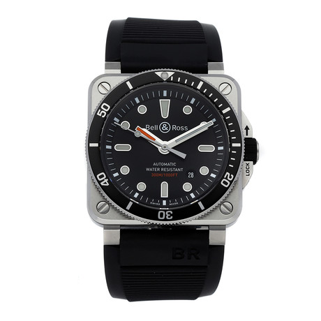 Bell & Ross Automatic // BR0392-D-BL-ST/S // Pre-Owned