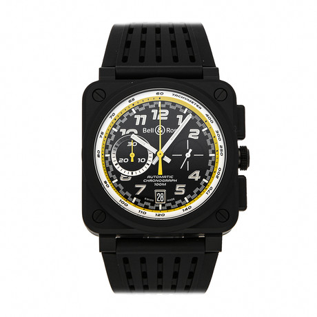 Bell & Ross Chronograph Automatic // BR0394-RS20/SRB // Pre-Owned
