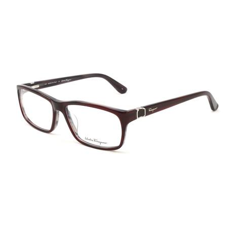 Women's SF2608-610-55 Optical Frames // Burgundy