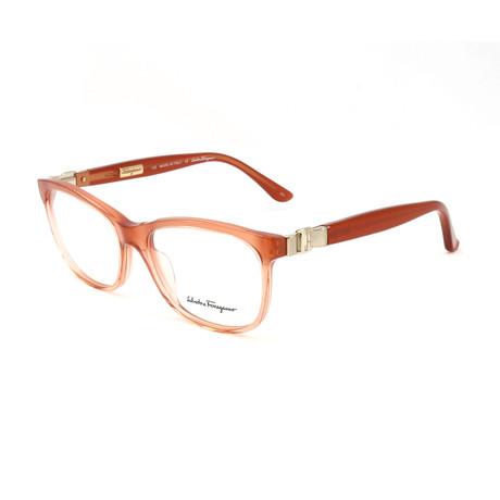 Women's SF2614-811-52 Optical Frames // Orange Gradient
