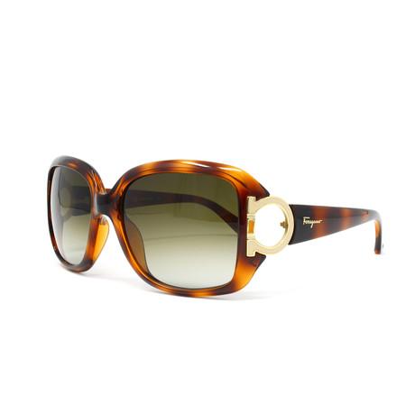 Women's SF666S-238 Sunglasses // Dark Tortoise