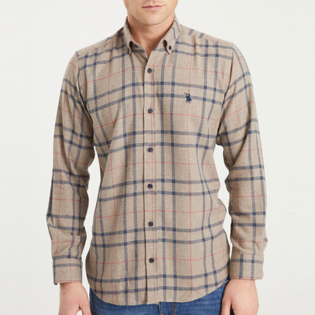 Dumaine Flannel // Brown (Small)