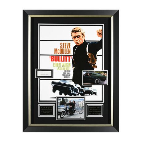 Bullitt // Steve McQueen Autographed Display II