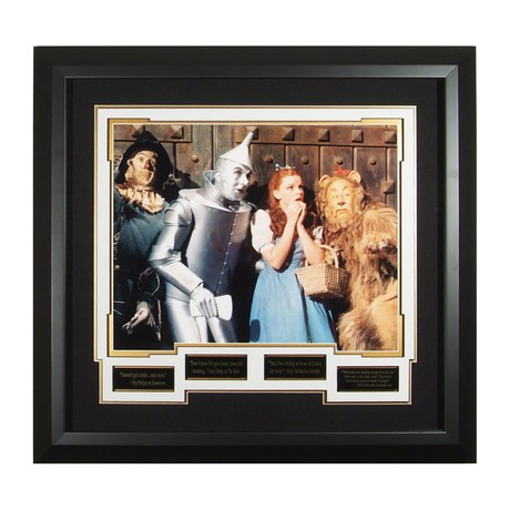 Wizard of Oz // Collectible Quotes Display // Unsigned