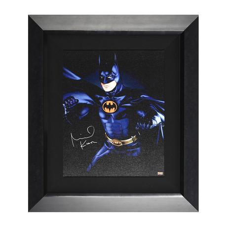 Batman // Michael Keaton Autographed Display