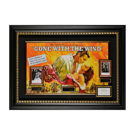 Gone With The Wind // Autographed Display