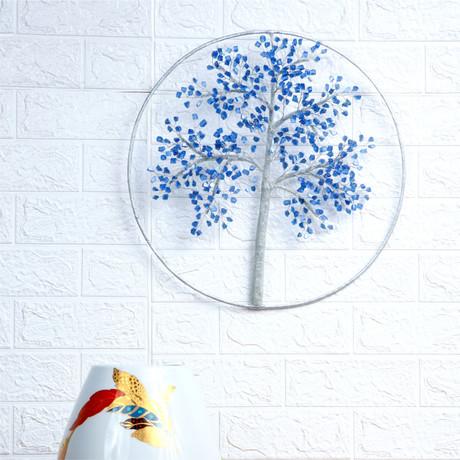 "Maple Blue 16"" Tree of Dreams"