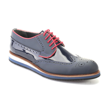 Querida Dress Shoes // Dark Blue (Euro: 40)