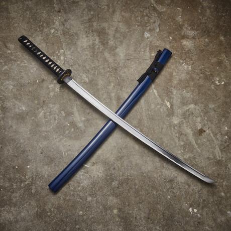 Musha Oda Nobunaga Katana (Blue)