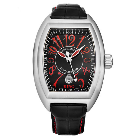 Franck Muller Conquistador Automatic // 8005KSC AC ROSSO VIVO // Store Display