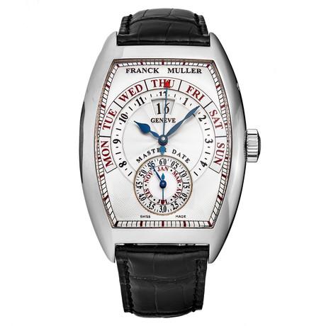 Franck Muller Cintree Curvex Master Date Automatic // 8880S6GGBK // Store Display