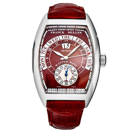 Franck Muller Cintree Curvex Master Date Automatic // 8880S6GGRD // Store Display