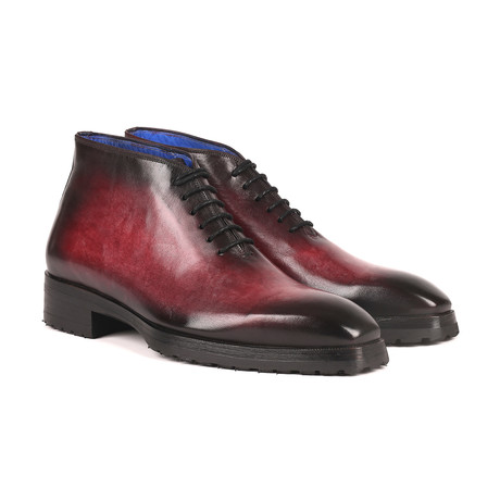 Burnished Ankle Boots // Bordeaux (Euro: 38)