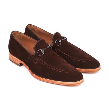 Horsebit Suede Loafers // Brown (Euro: 38)