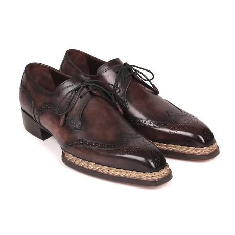 Norwegian Welted Wingtip Derby Shoes // Bronze (Euro: 38)