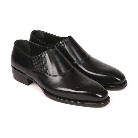 Goodyear Welted Elasticated Loafers// Black (Euro: 38)