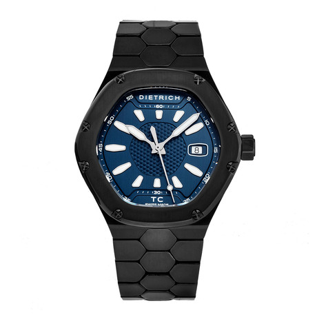 Dietrich Time Companion Automatic // TC PVD BLUE // Store Display