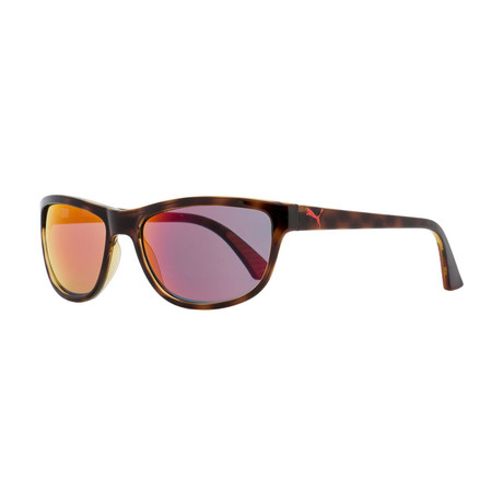 Puma // Unisex Foundation Sport Sunglasses // Havana