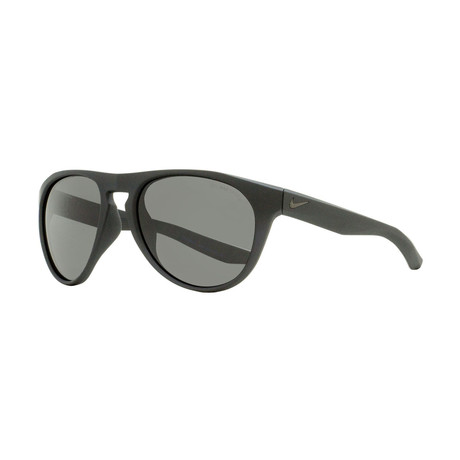 Nike // Unisex Essential Jaunt Oval Sunglasses // Matte Black