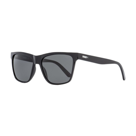 Puma // Unisex Hampton Rectangular Sunglasses // Black