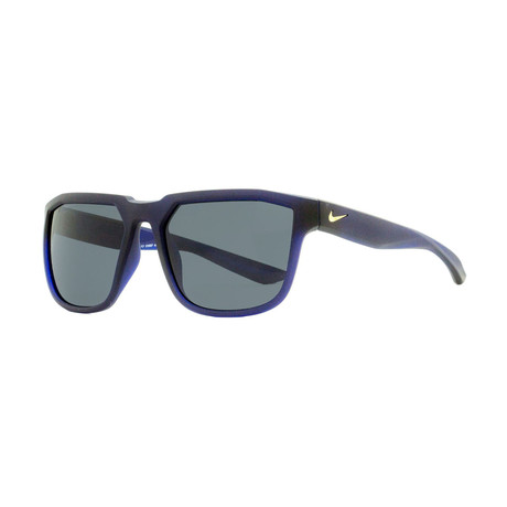 Nike // Unisex Fly Square Sunglasses // Black + Blue