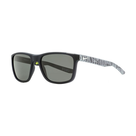 Nike // Unisex Unrest Rectangular Sunglasses // Matte Black